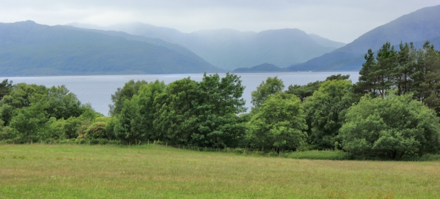 25 mountains across Loch Linnhe, Ruth Livingstone in Scotland