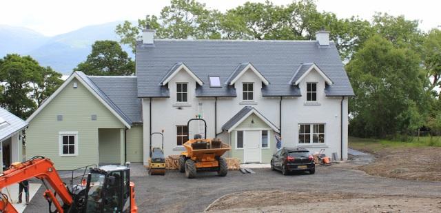 30 new building, Seabank, Ruth's coastal walkaround Scotland