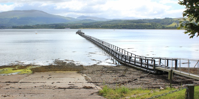 32 long pier, Ruth's coastal walkaround Scotland