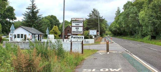 43 bed and breakfast and pottery, Ruth's coastal walk around Scotland