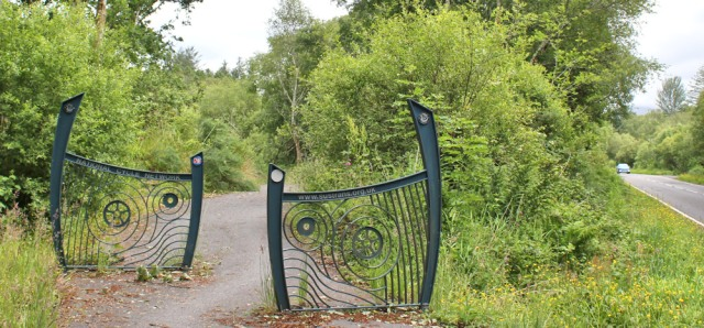 44 impressive gates across cycle way, Ruth Livingstone