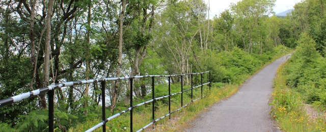 51 cycle track to Duror, Ruth Livingstone walking the coast of Scotland