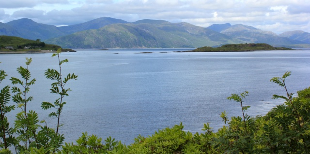 61 Loch Linnhe and Mull, Ruth's coastal walk, Port Appin
