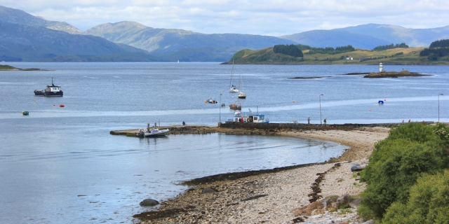 62 Port Appin jetty, Ruth's coastal walk around Scotland