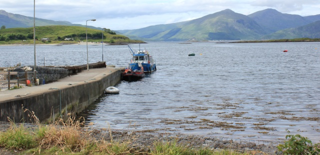 65 ferry to Lismore, Ruth in Port Appin, Scotland