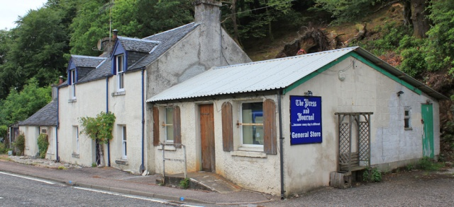 69 Duror general store, Ruth's coastal walk, Scotland