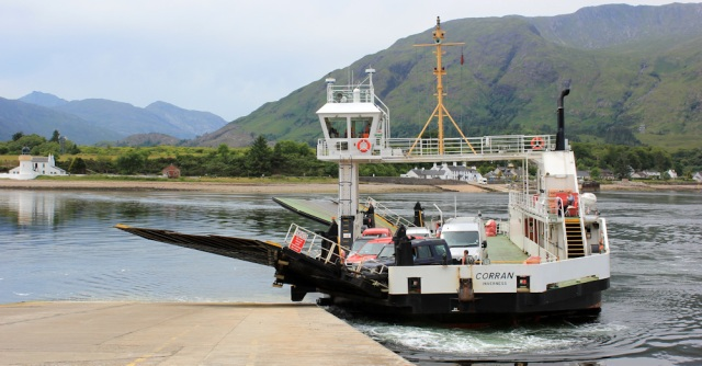 01 Corran Ferry, Ruth Livingstone coastal walker, Scotland