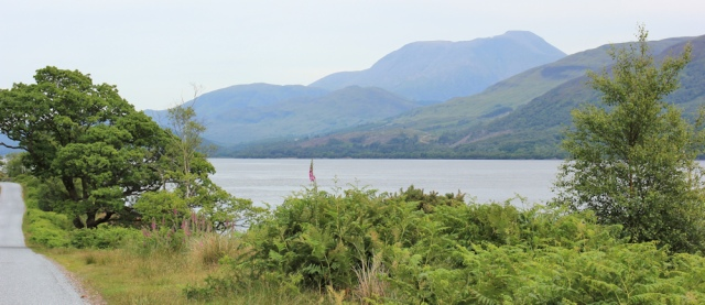 11 views of Loch Linnhe and Ben Nevix, Ruth's coastal walk around the UK, Scotland