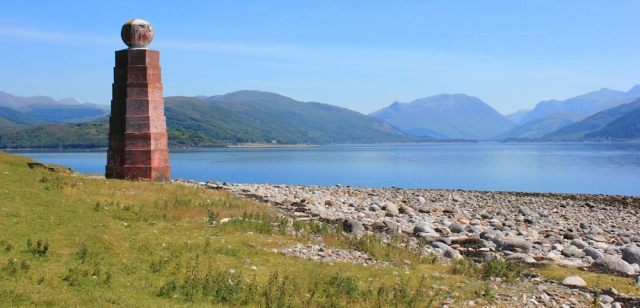 12 Sallachan Point on Loch Linnhe, Ruth's coastal walk around Scotland