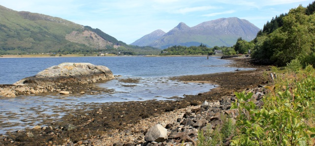 13 Pap of Glencoe, Ruth's coastal walk around Scotland