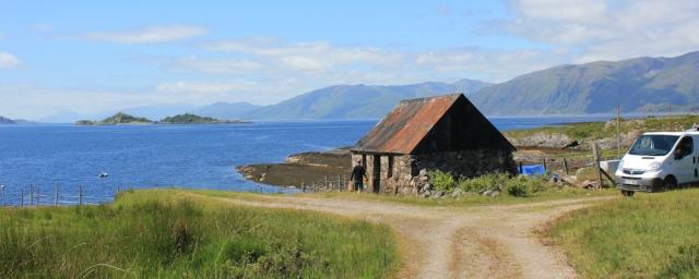 14 fisherman's hut, Ruth's coastal walk around Scotland