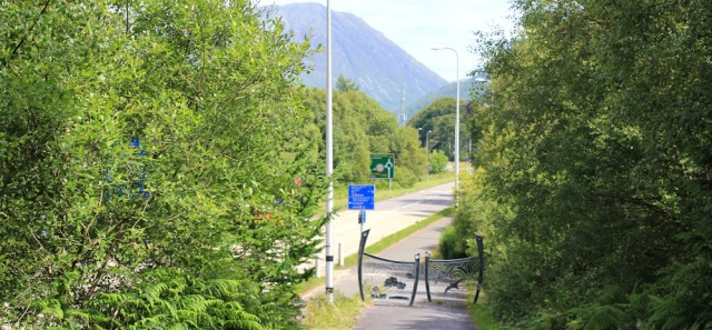 15 A82, Ballachulish, Ruth's coastal walk around Scotland