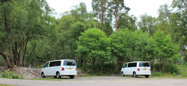 19 two vans not speaking, Ruth's coastal walk, Loch Linnhe