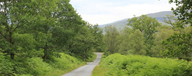 21 long and winding road, Ruth Livingstone walking around Loch Linnhe