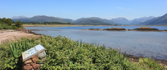 21 view of Ben Nevis and Glen Coe, Ruth's coastal walk around Scotland