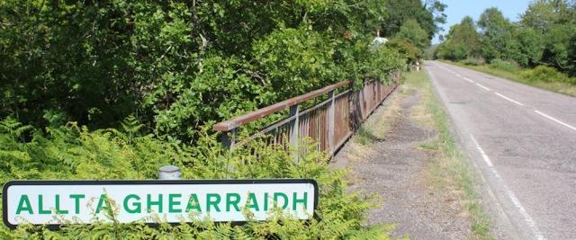 24 Allt a Ghearraidh, Ruth's coastal walk around Scotland