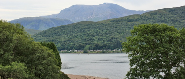 27 Ben Nevis on the other side of Loch Linnhe, Ruth Livingstone