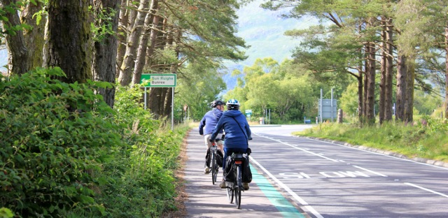27 more cyclists on the road to Fort William, Ruth Livingstone's coastal hike