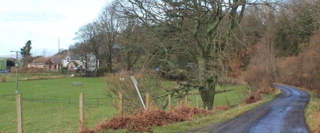 12 Rhemore Farm, Ruth hiking the coast of Morvern Peninsula