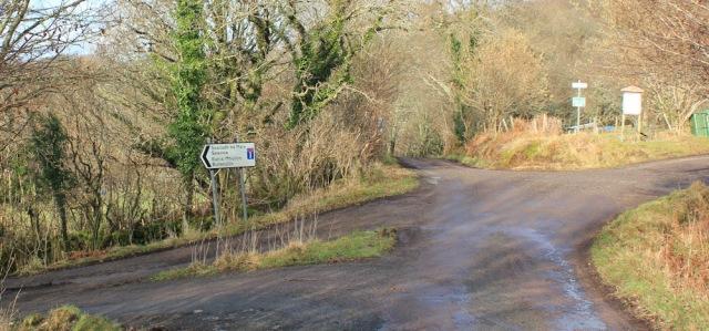 26 crossroads, Drimnin, Ruth hiking the coast of Morvern Peninsula