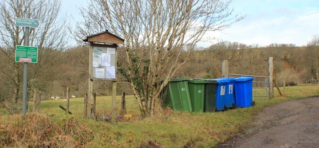 34 community noticeboard, Drimnin, Ruth walking the coast of Morvern Peninsula
