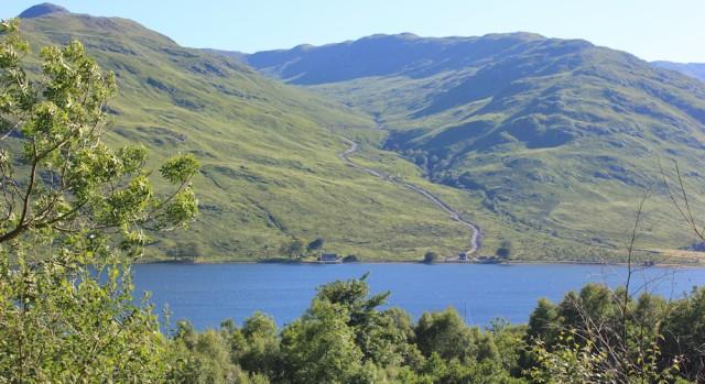56 looking towards Glensanda, Loch A Choire, Ruth's coastal walk around Scotland
