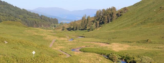 64 looking back to Kingairloch, Ruth's coastal hike around Scotland
