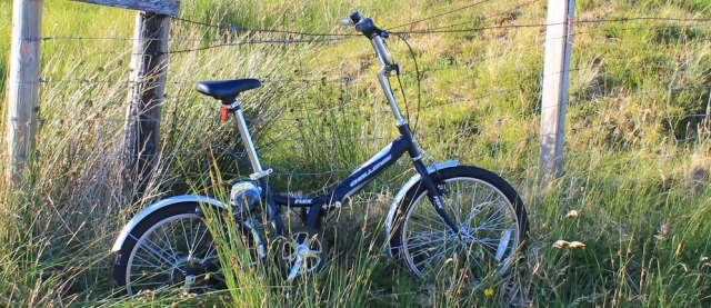 70 Monster bike, Kingairloch, Ruth Livingstone