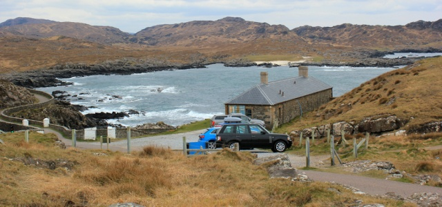 52 cafe, Ardnamurchan Point, Ruth's coastal walk, Scotland