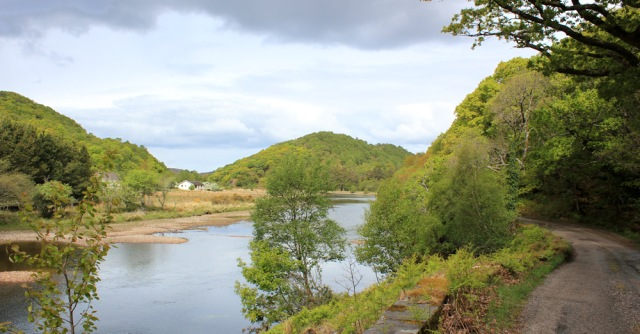 16 along the River Shiel, Ruth's coastal walk to Castle Tioram, Scotland