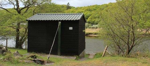 17 gauging station, River Shiel, Ruth's coastal walk to Castle Tioram, Scotland