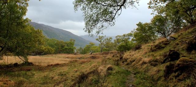 16 rain clouds, Ruth's coastal walk, Loch Moidart
