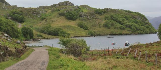 03 round shore of Loch Morar, Ruth's coastal walk around Scotland