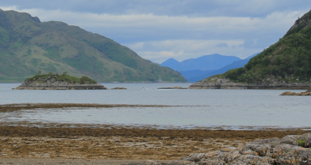 06 view up Loch Hourn, Ruth's coastal walk, Knoydart, Scotland