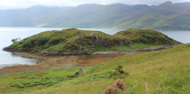 11 Eilean Tioram, Arnisdale, Ruth's coastal walk around Scotland