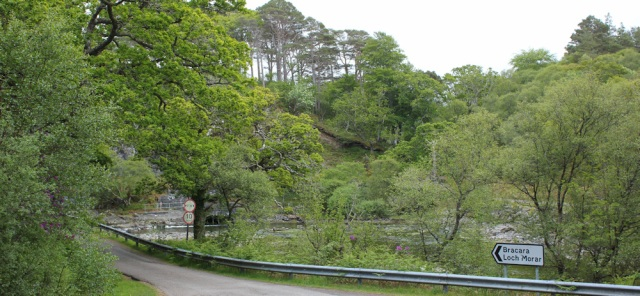 31 road to Loch Morar, Ruth's coastal walk around Scotland