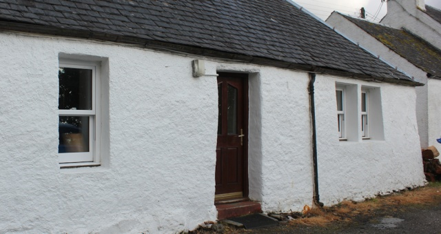 39 cottage at Corran, Ruth Livingstone walking the coast of Scotland