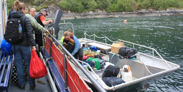 53 shuttle boat to our ferrry, Ruth's coastal walk, Tarbet, Scotland