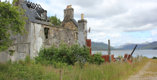 21 derelict house, Ardintoul, Ruth's coastal walk around Glenelg, Scotland