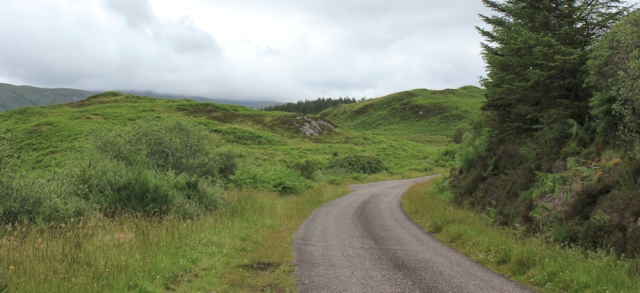 21 start of the walk to Glenelg, Ruth's coastal walk, Scotland