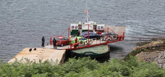 Kylerhea ferry 1, Ruth Livingstone