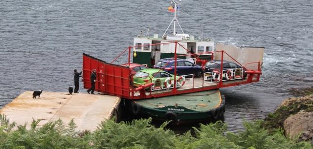 Kylerhea ferry 2, Ruth Livingstone
