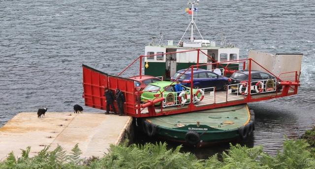 Kylerhea ferry 3, Ruth Livingstone