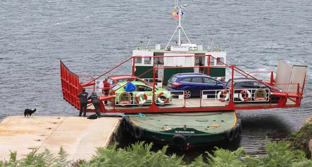 Kylerhea ferry 4, Ruth Livingstone