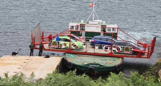 Kylerhea ferry 5, Ruth Livingstone