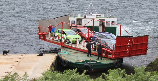 Kylerhea ferry 6, Ruth Livingstone