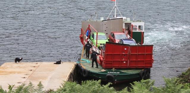 Kylerhea ferry 7, Ruth Livingstone