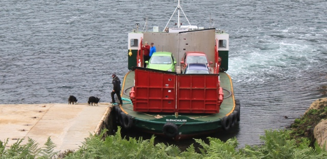 Kylerhea ferry 8, Ruth Livingstone