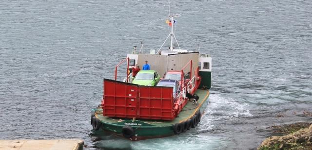 Kylerhea ferry 9, Ruth Livingstone
