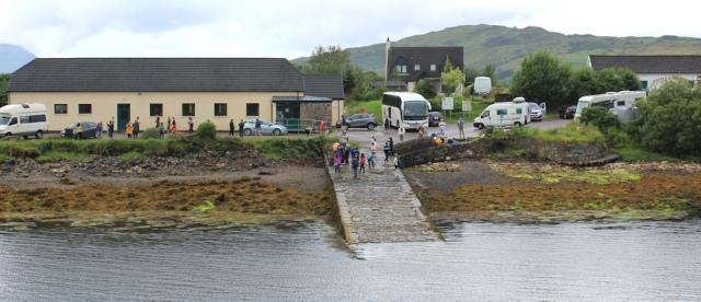 07 parking and toilets, Dornie, Ruth's coastal walk around Scotland